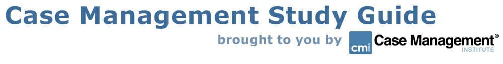 case management study guide header