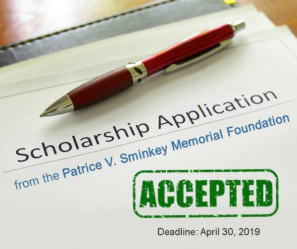 Patrice V. Sminkey Foundation Scholarship