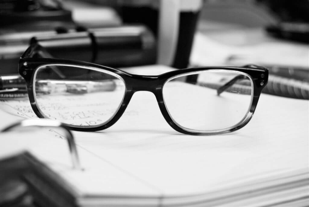 reading glasses for studying